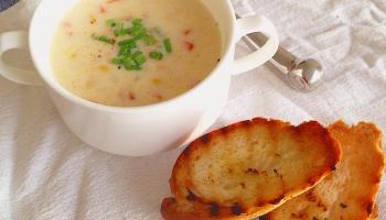 Bbc good food me and lurpak arabia cook off challenge 2015 shrimp chowder forumfinder Choice Image